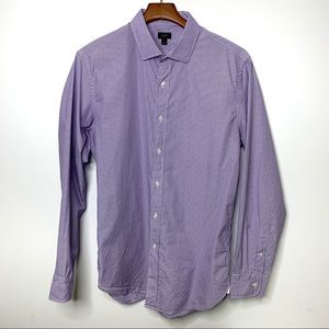 J. CREW Purple Pinstripe Ludlow Button Down Shirt